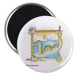 """Priscilla's Nessie 2.25"""" Magnet (100 pack)"""
