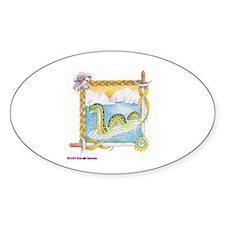 Priscilla's Nessie Oval Decal