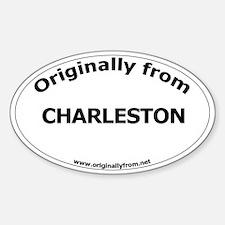 Charleston Oval Decal
