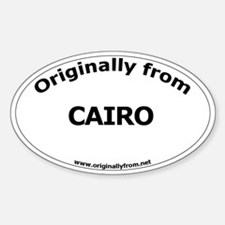 Cairo Oval Decal