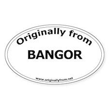 Bangor Oval Decal
