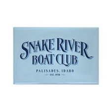 Snake River Boat Club Rectangle Magnet