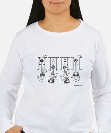 4 Pistons - On a T-Shirt