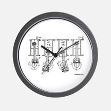 4 Pistons - On a Wall Clock