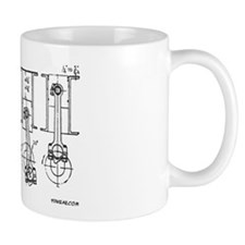 4 Pistons - On a Mug