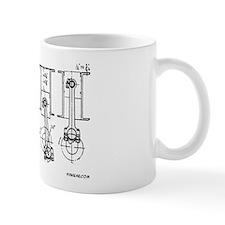 4 Pistons - On a Small Mug