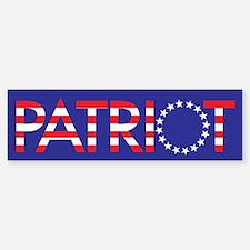Patriot Bumper Bumper Bumper Sticker