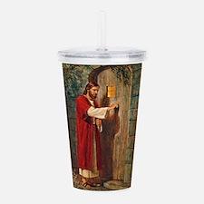 Jesus Knocks On The Acrylic Double-Wall Tumbler