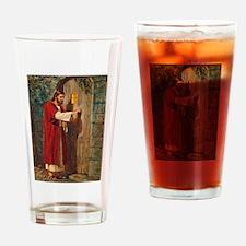Jesus Knocks On The Door Drinking Glass