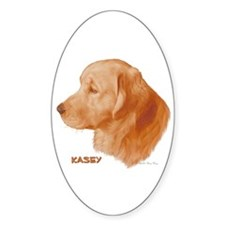 Kasey Oval Decal