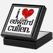 I Love Edward Cullen Keepsake Box