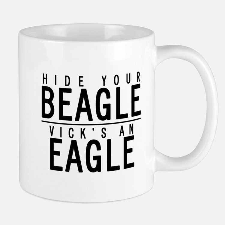 Cute Hide your beagle Mug