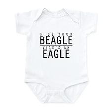 Cute Hide your beagle Infant Bodysuit