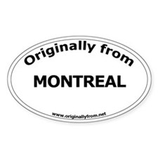 Montreal Oval Decal