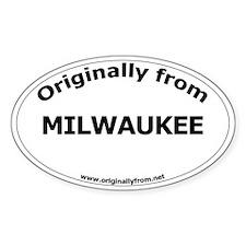 Milwaukee Oval Decal