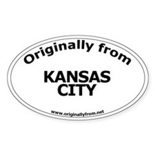 Kansas City Oval Decal