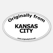 Kansas City Oval Decal