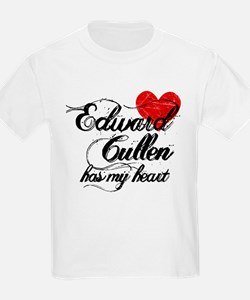 Edward Cullen Has My Heart T-Shirt