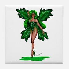 Emerald Pixie Tile Coaster