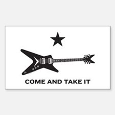 Come & Take It Rectangle Decal