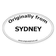 Sydney Oval Decal