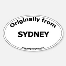 Sydney Oval Decal