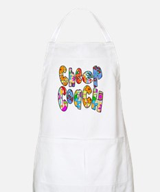 Patterned Cheer Coach BBQ Apron