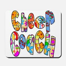 Patterned Cheer Coach Mousepad