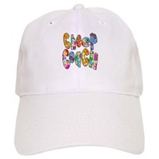 Patterned Cheer Coach Baseball Cap