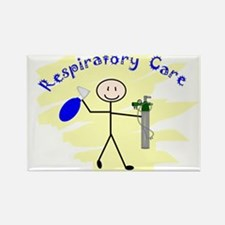Respiratory Therapy 6 Rectangle Magnet