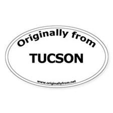 Tucson Oval Decal