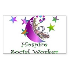 Hospice II Rectangle Decal