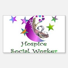 Hospice II Rectangle Decal