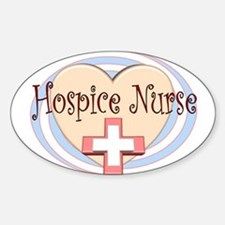 Hospice II Oval Decal