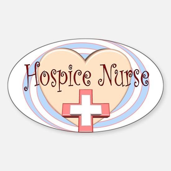 Hospice II Oval Decal