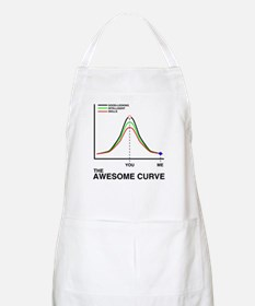 The Awesome Curve BBQ Apron
