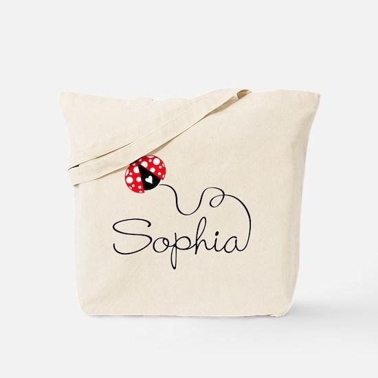 Ladybug Sophia Tote Bag