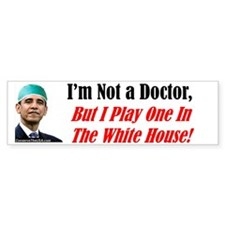"""Your New Doctor"" Bumper Bumper Sticker"
