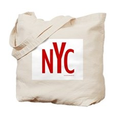 NYC (Red) - Tote Bag