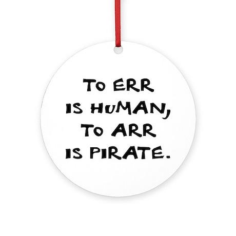 Arr! - Ornament (Round)