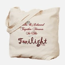 Twilight Bella and Edward Tote Bag