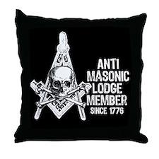 Anti-Masonic Throw Pillow