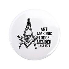 """Anti-Masonic 3.5"""" Button (100 pack)"""