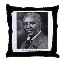 George Washington Carver Throw Pillow