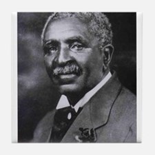George Washington Carver Tile Coaster