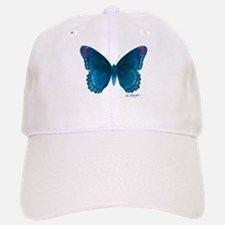 Big blue butterfly Baseball Baseball Cap