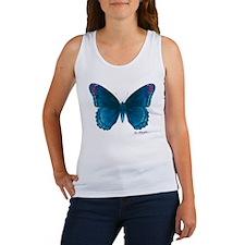 Big blue butterfly Women's Tank Top