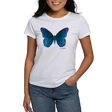 Big blue butterfly Tee
