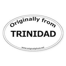 Trinidad Oval Decal