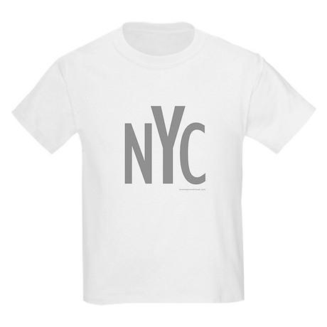NYC (Grey) - Kids T-Shirt